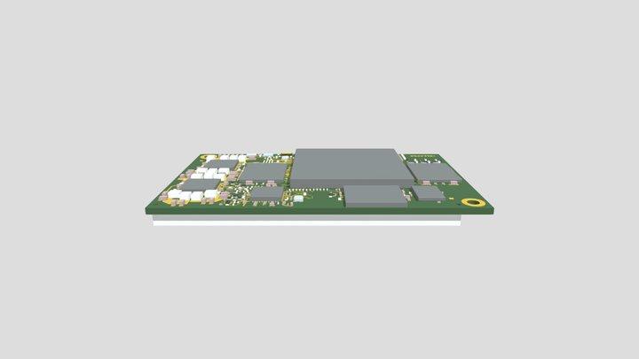 phyCORE-i MX8 (PCM-064) 3D Model