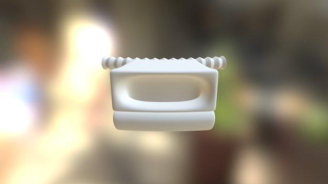 Croak Stroke 3D Model