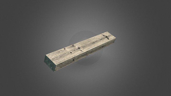 Wooden Board 3D Model