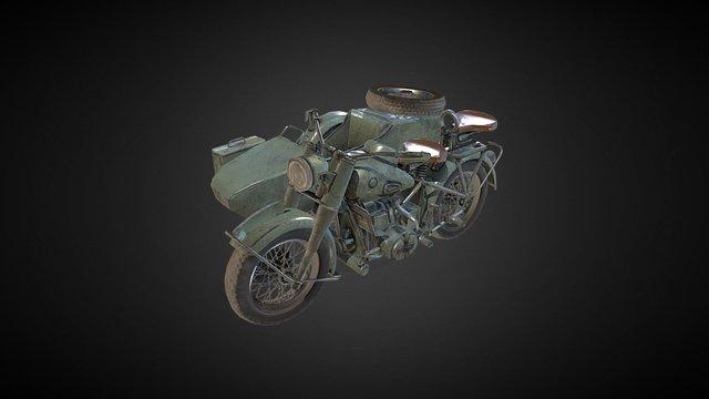 BMW-R75 3D Model