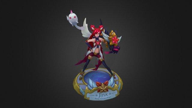 Star Guardian Jinx 3D Model