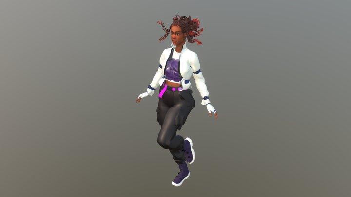 Girl_03 3D Model