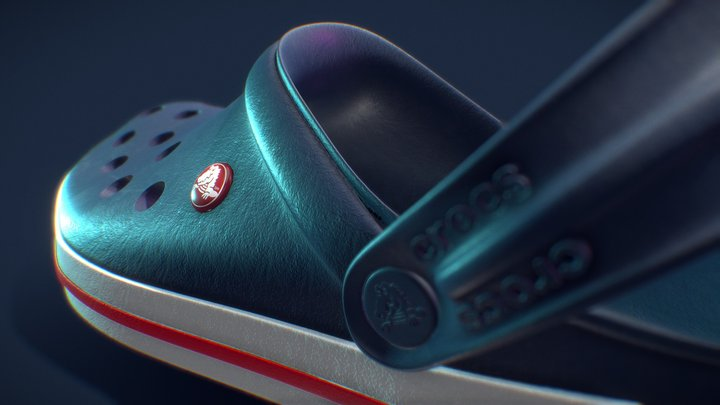 Crocs Shoe 3D Model