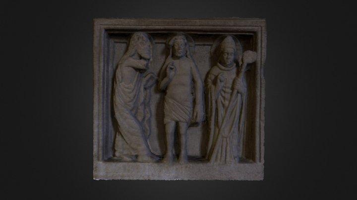 Fonte Battesimale 3D Model