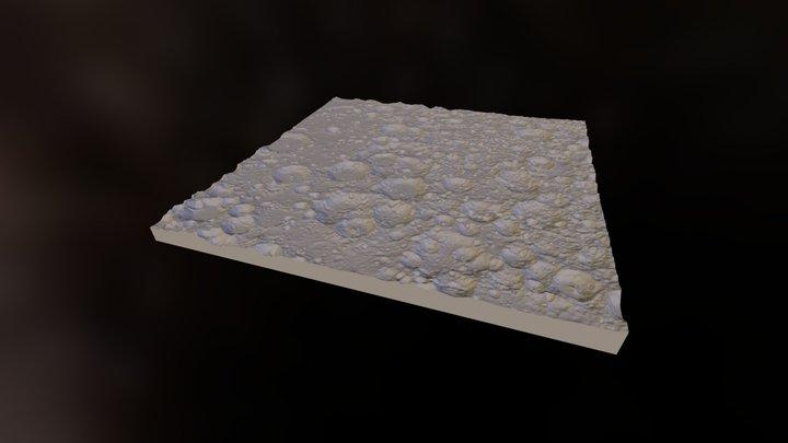 Moon Far Side (3D printable) 3D Model