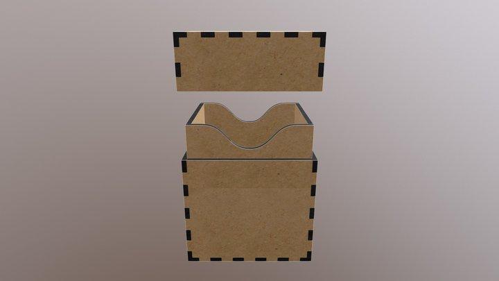 Deckbox Classic 80 - MDF 3D Model