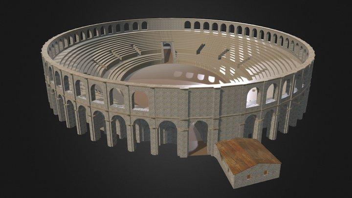 Anfiteatro Pollentia/UrbsSalvia, Urbisaglia (MC) 3D Model