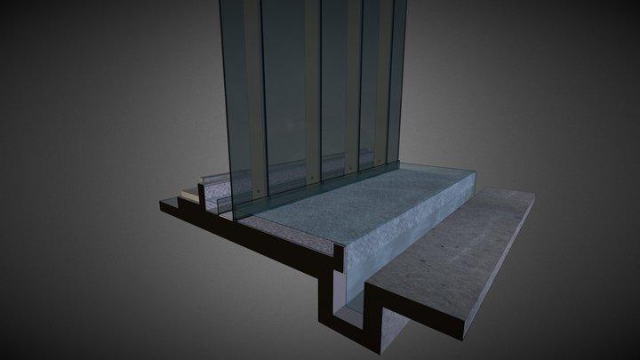 Podium Facade @ Pools - Option 2 3D Model