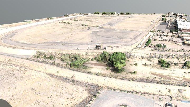 Los Angeles Landfill May 2020 3D Model