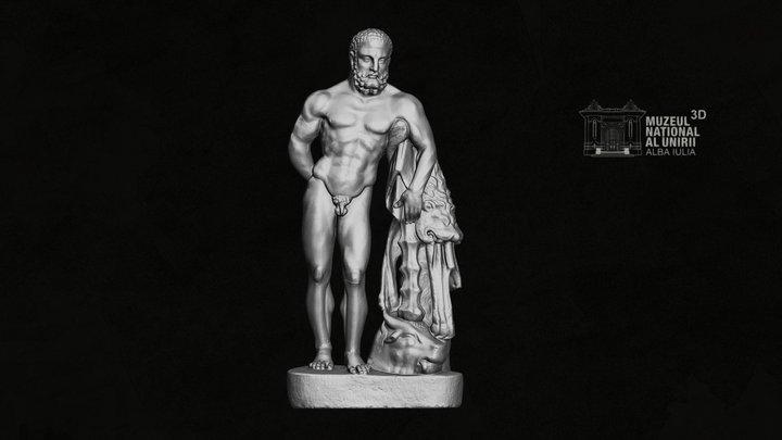 Hercules Farnese, Apulum (studiu) 3D Model