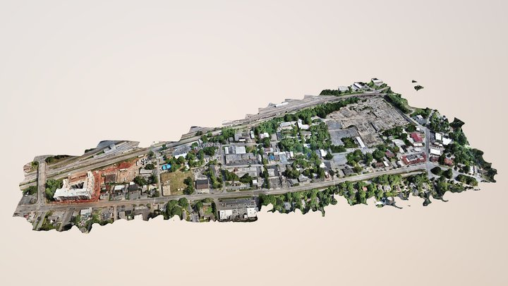 Avondale Estates full site 3D Model