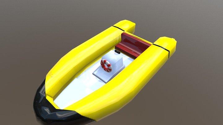 Dighny Boat 3D Model