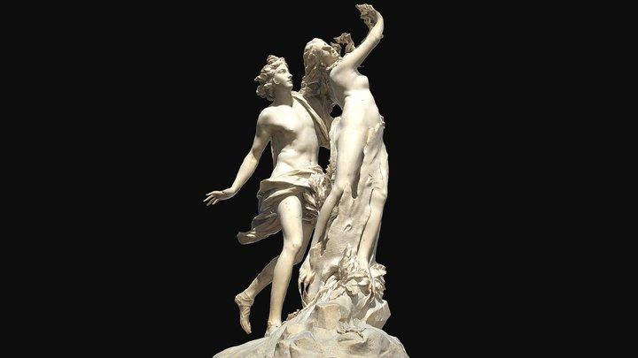 Apollo and Daphne 3D Model