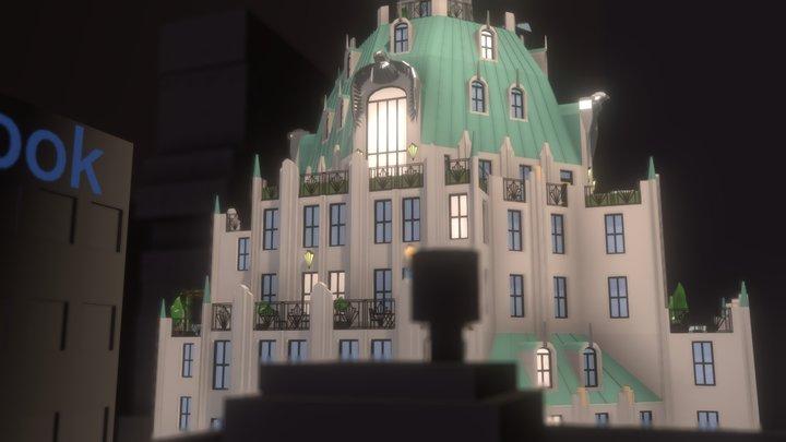 Urban Sanctuary 3D Model