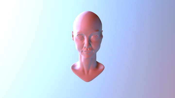 Zbro Bust Base Mesh2 3D Model
