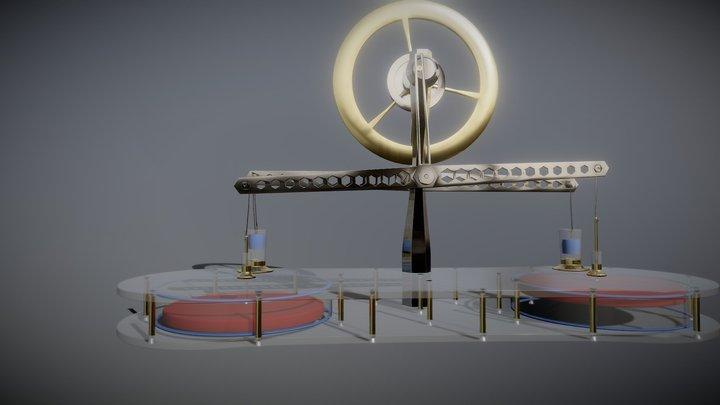 stirling-engine-parametric-modeling-003 3D Model