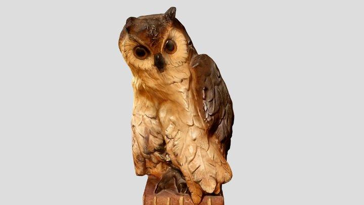 Owl figurine 3D Model