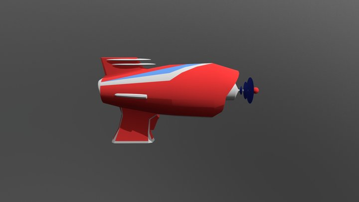 Ray Gun : AlienWave 3D Model