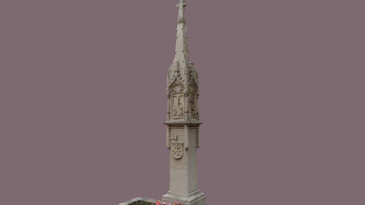 Gotischer Bildstock 3D Model