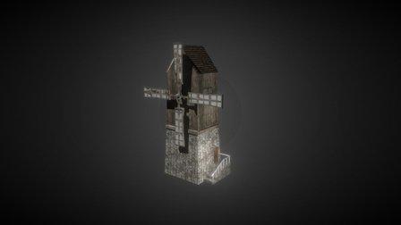 Moinho 3D Model