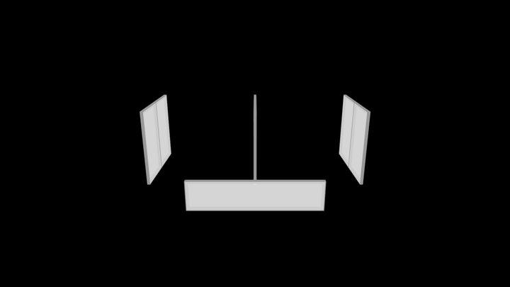 Q18045 Custom MAX Walls (Purchase) Quote 3D Model