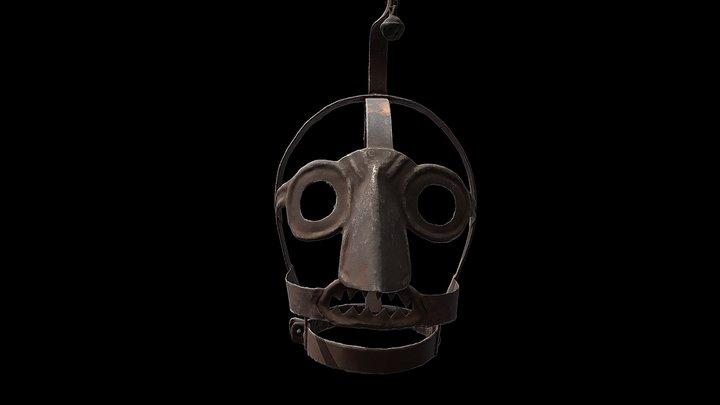 Iron 'scold's bridle' - Science Museum London 3D Model