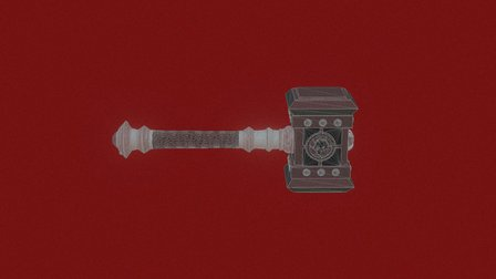 Doomhammer (Molot Rocka) Zip 3D Model
