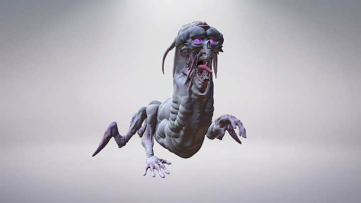 Alien 3D Model