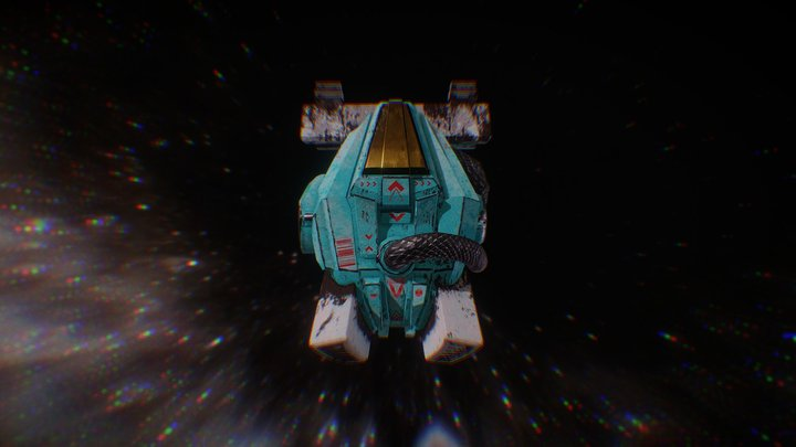 Spaceship#001 3D Model