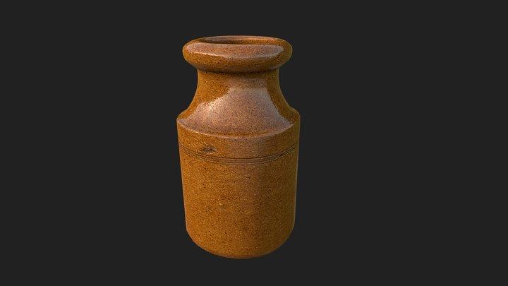 Small Pot 3D Model