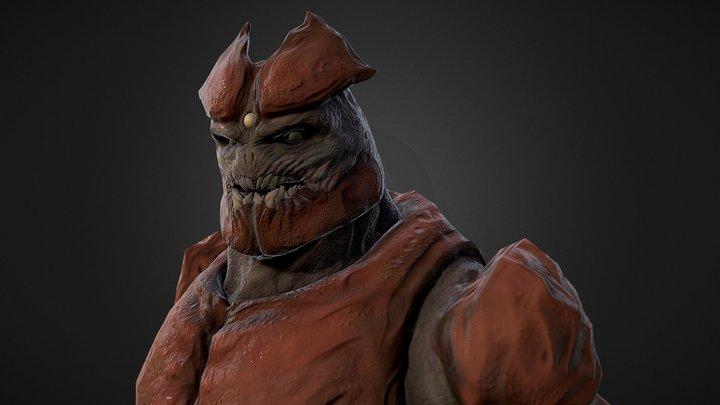 Monster Sculpt 3D Model