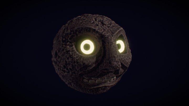 Majoras's mask Moon FanArt 3D Model