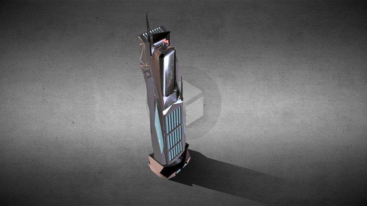 Sci Fi Building_72 3D Model