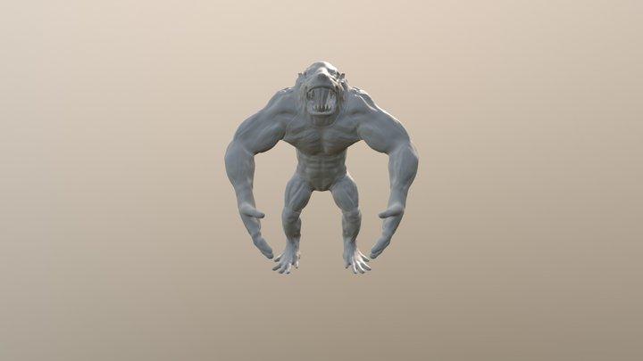 Rat Ogre Assemble 3D Model