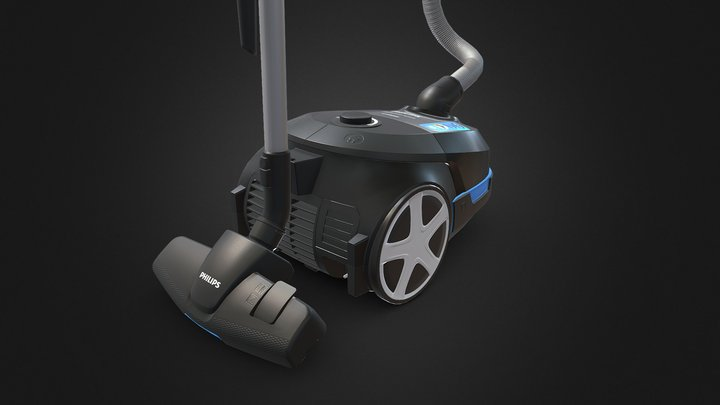Vacuum cleaner Philips FC8585 3D Model