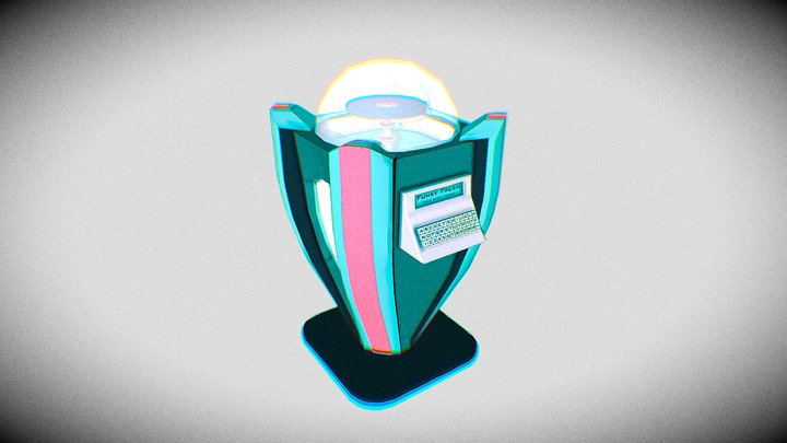 Retrofuturism - Hero Asset - Jukebox 3D Model