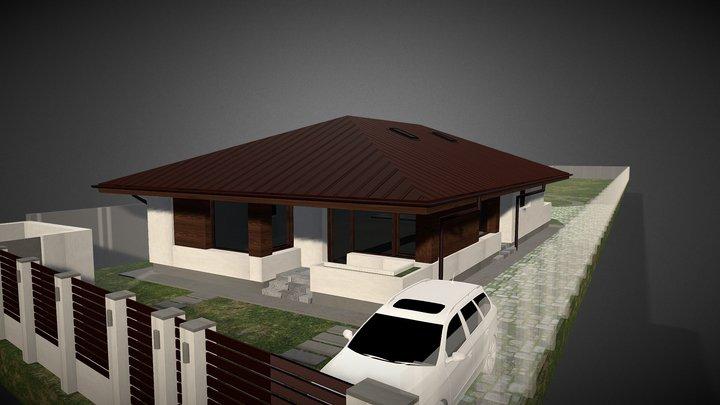 Locuință Unifamilială Șoimuș - Hunedoara 3D Model
