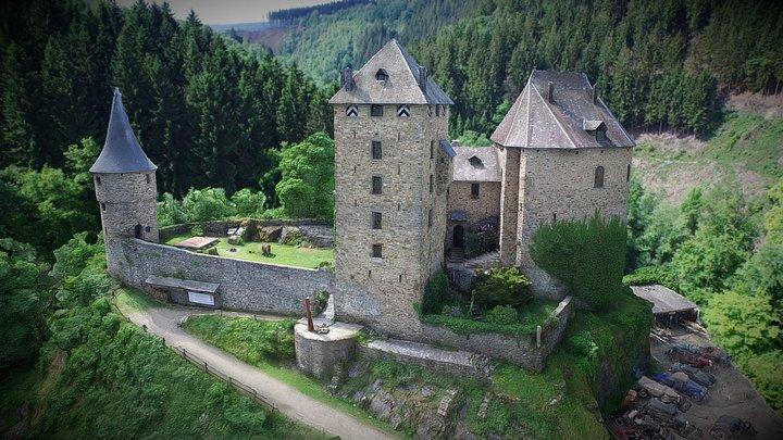 Château de Reinhardstein - Belgique 3D Model
