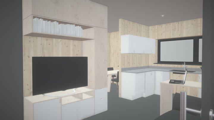 Fit Home VR Interior 3D Model