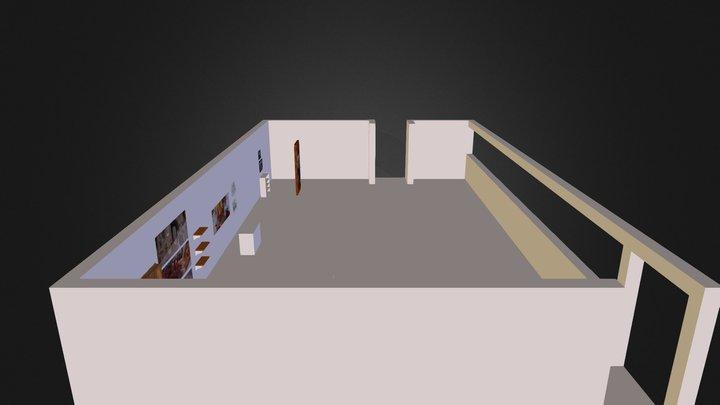 Model d'accrochage Christophe 3D Model