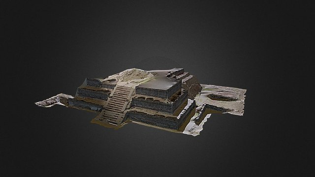 piramide prueba 3D Model