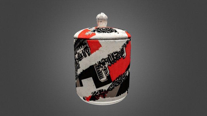 Stokes Croft Jam Jar 3D Model