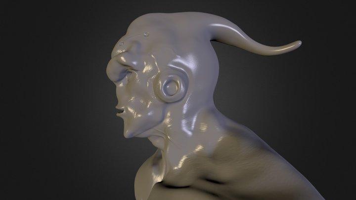 Majin-bu (Zbrush) 3D Model