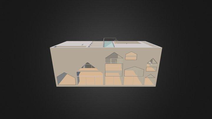 RESIDENCIA PRIVADA - 3D 3D Model