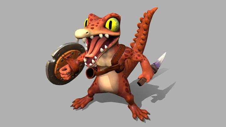 Jr.Croc (RPG Reptiles) - 3D model 3D Model