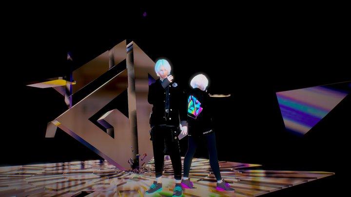 "IGB ""Hologram"" 3D Model"
