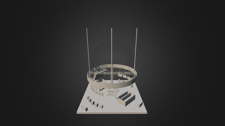 Youtube Booth3 3D Model