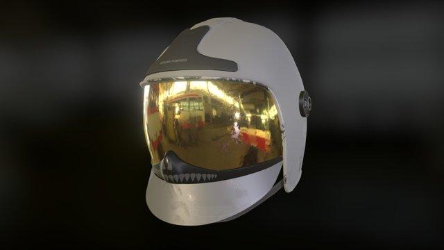 Zedfighter Helmet 3D Model