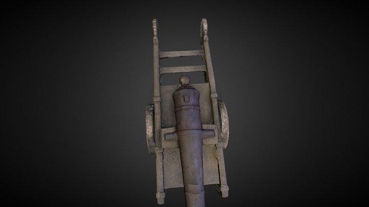 砲 3D Model