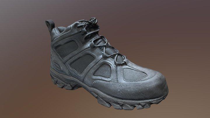 Oakley Sabot Mid Boots Photogrammetry test 3D Model